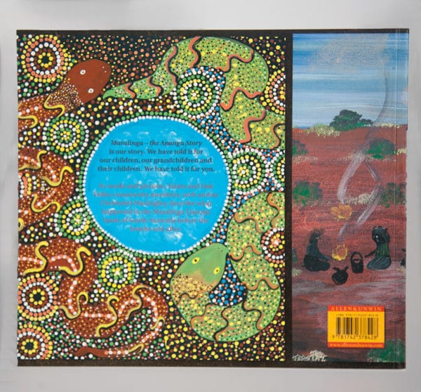 Maralinga- The Anangu Story, back