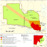 Woomera Access Zones Map